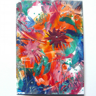 4X6 Fantasy Flower Painting 036.