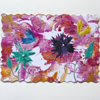 4X6 Fantasy Flower Painting 038.