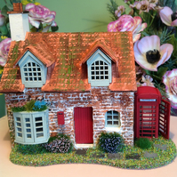 One forty eighth, dolls house, Post Office, cottage