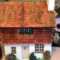 1:48, dolls house, miniature, cottage