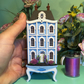 1:144, micro, handmade, dolls house with display table