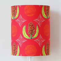 Red Aloe Flower Handmade Standing Lampshade