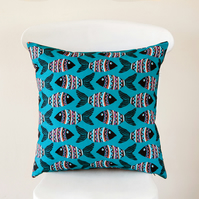 Tribal Fish Handmade Cushion Cover
