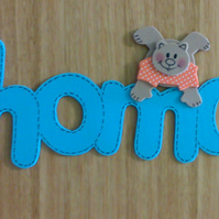 Children's Room plaques  - Names for children in funky foam (6 letters or more)