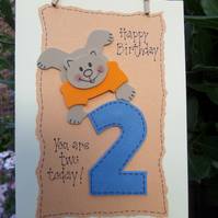 Happy Birthday - Age 2