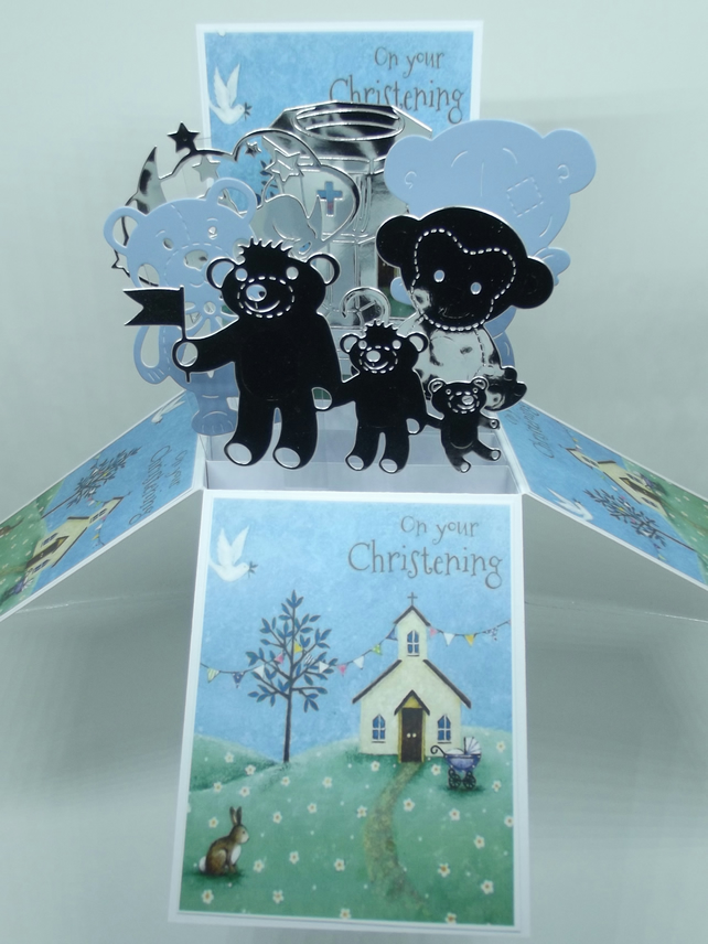 Christening Card for a Boy