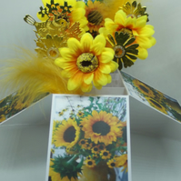 Card with Sunflowers ss