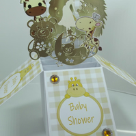 Neutral Baby Shower Card