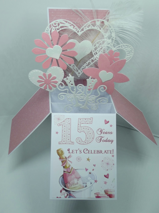 15th Anniversary Card
