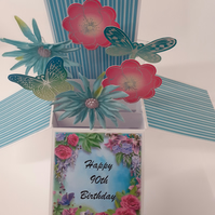 Ladies 90th Birthday Card