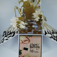 Girls 16th Birthday Card