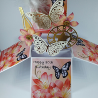 Ladies 80th Birthday Card