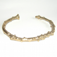 Vermeil Twig Bangle