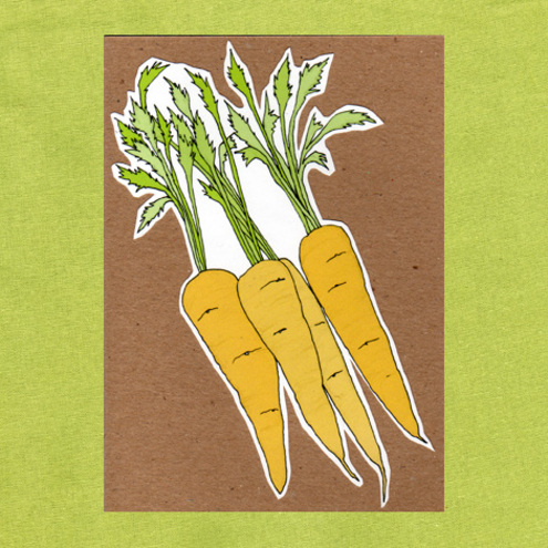 carrot seed card