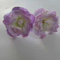 Lilac flower hair pin, flower hair grip, wedding hair flowers, silk flower hair