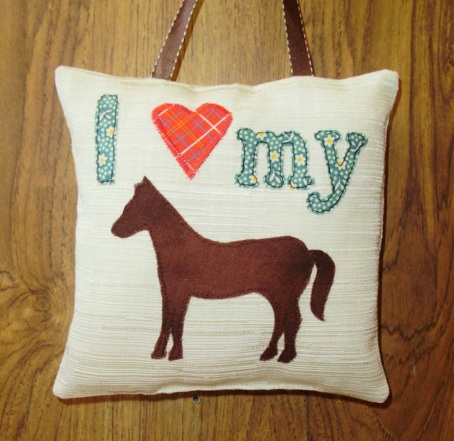 SALE - I Love my pony hanging