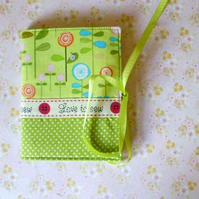 Needle case - Green with love to sew