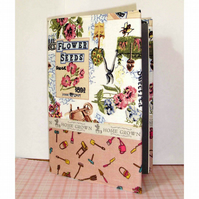 Notebook or journal garden theme