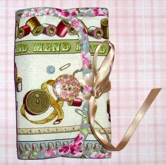 Sewing set needle case Make do and mend