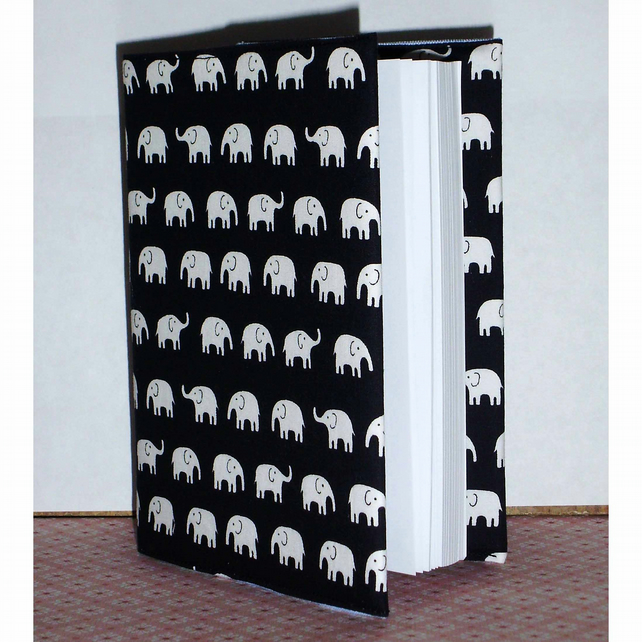 Notebook elephant print