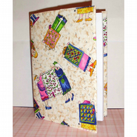 Diary fabric covered quilting 2017
