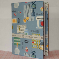 Notebook fabric covered - Kitchen Baker Cooking
