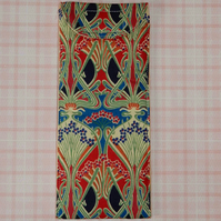 Glasses case - Liberty print red