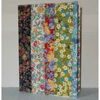 Notebook - Liberty print patchwork floral