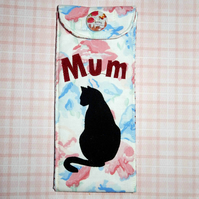 Glasses case - Mum and Black cat