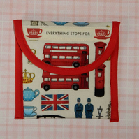 Tea bag wallet - London