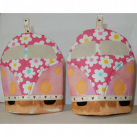 Egg Cosies Camper vans pair SALE PRICE