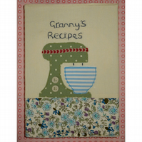 Notebook - Granny's recipes