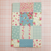 Diary Patchwork blue 2017