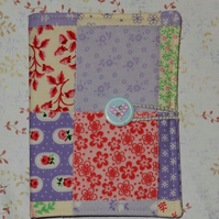 Needle case - Patchwork lilac