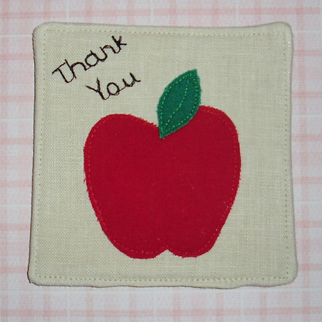 Coaster - Thank you teacher