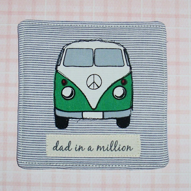 Coaster - Dad in a million with campervan