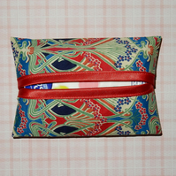 Pocket tissue holders - Liberty print red