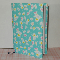 Diary modern Liberty blue floral A6 2017 week to view