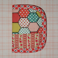 Needlecase - Patchwork and floral