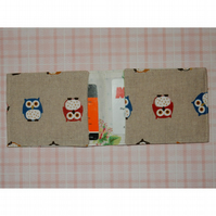 Travel card wallet Owls