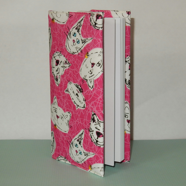 Diary slimline 2018 cats pink