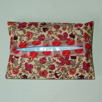 Tissue holder Traditional Liberty print pink