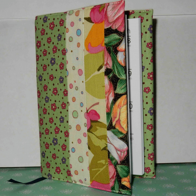 Fabric covered diary 2020