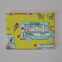 Travel card wallet Ice Cream Van