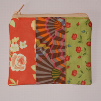 Coin purse bright patchwork