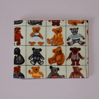 Travel card wallet Classic teddy bears