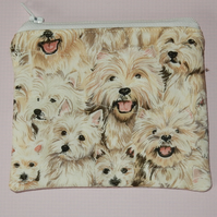 Coin purse dogs Westies