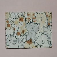 Travel card wallet Cats