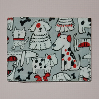 Travel card wallet fun dogs