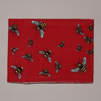 Travel card wallet Bees